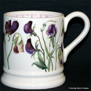 Emma Bridgewater. Sweet Pea Purple ½ pint mug