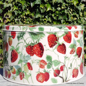 Emma Bridgewater Strawberries cake tin large Emma Bridgewater