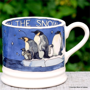 Emma Bridgewater small mug Winter Pinguins